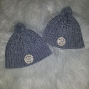 Bundle of Baby's North Face hats